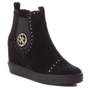 Botki Guess Flfrd3 Sue12 Black High Top Sneakers Sneakers Top Sneakers