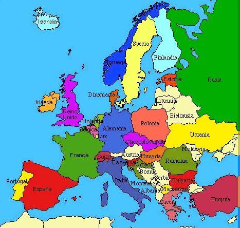 Mapa De Europa Con Paises.Europa Localizacion Geografica Paises Mundo Geografia Mapa De Europa Europa Mapa Paises Europa