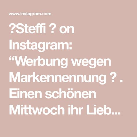 """🌸Steffi 🌸 on Instagram: """"Werbung wegen Markennennung 🙄 . Einen schönen Mittwoch ihr Lieben & Herzlich Willkommen an alle neuen ❤️ Ich glaube rot darf noch ein…"""""""