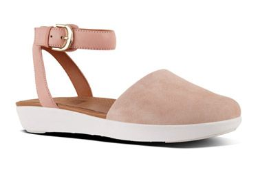 4f4e629e4 FitFlop Cova Closed-Toe Dusky Pink | Favorite