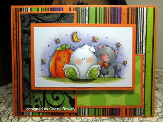 absolutely adorable Halloween card...luv the beautiful Copic coloring, Whippersnapper image, sparkles in moon and stars, patterned paper used...great card!!