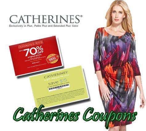 picture relating to Catherines Printable Coupons named Justin Funderburk (justinfunderbur) upon Pinterest