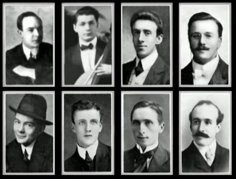 The Musicians of the RMS Titanic all perished with the ship when it