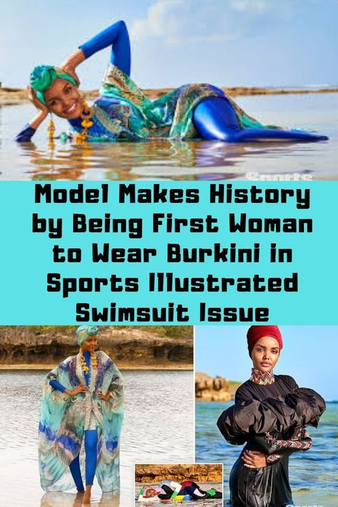 Model Makes History by Being First Woman to Wear Burkini in Sports Illustrated Swimsuit Issue