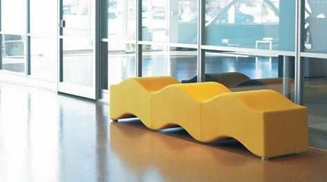Ripple Bench | Medical office furniture, Healthcare
