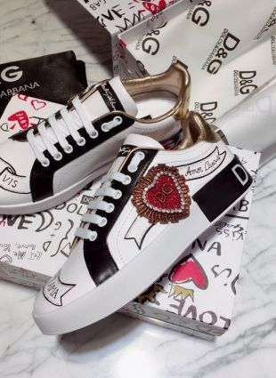 Dolce \u0026 Gabbana sneakers white replica
