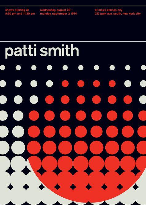 Swissted Rock and Punk Poster Legends Series - Design Milk