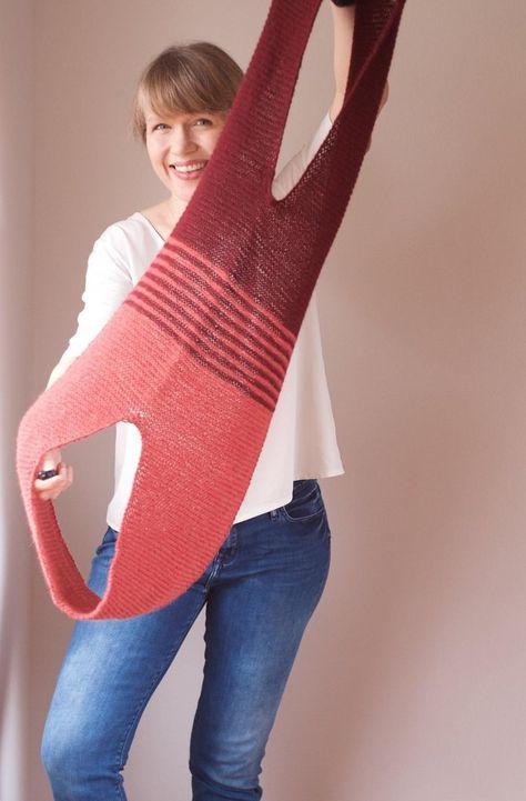 Loops knitting pattern