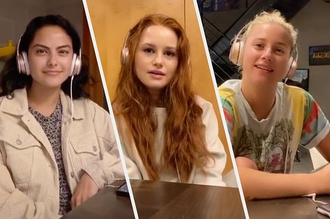 Lili Reinhart Madelaine Petsch And Camila Mendes Tiktok Is The Best Thing I Ve Seen In A While Mendes Lili Reinhart Celebrities