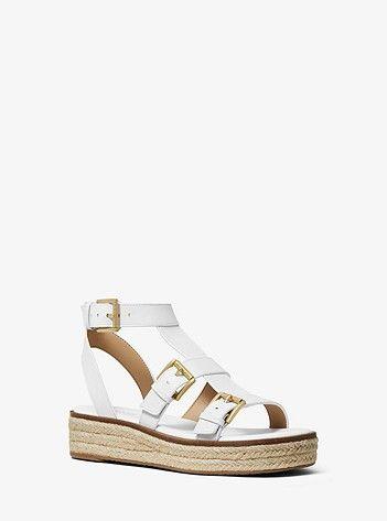 19e24d0b4c3 Cunningham Leather Sandal | Michael Kors | The Imelda Marcos In Me ...