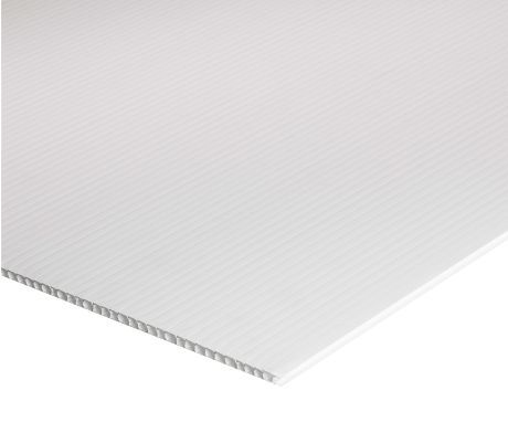 White Coroplast Sheet Corrugated Plastic Boards 4 8 Corrugated Plastic Sheets Corrugated Plastic Plastic Sheets
