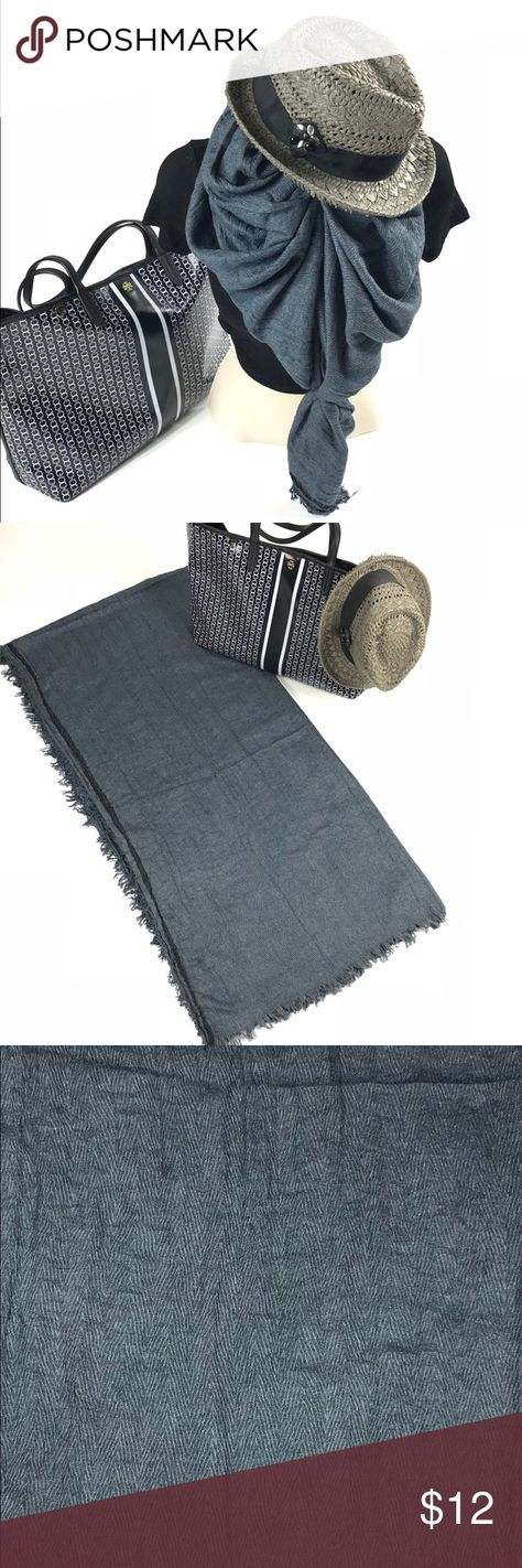 """Light Weight Scarf This lightweight scarf is comfortable, chic, and warm enough for those slightly chilly rooms. 70% Viscose, 30% Cotton. Length: 76"""" Accessories Scarves & Wraps"""