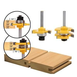 Tongue Groove Router Bits Router Woodworking Jet Woodworking Tools Router Bit Set