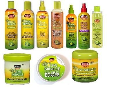 African Pride Olive Oil Formula Miracle Moisturising Hair Care