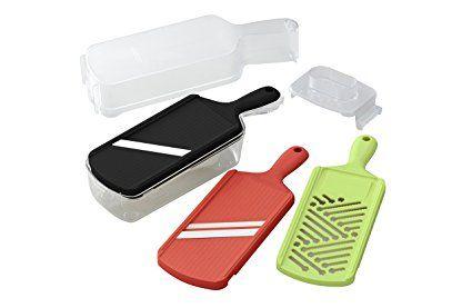 Kyocera Advanced Ceramic Slicer Set With Adjustable Mandoline Julienne Slicer And Grater Review Advanced Ceramics Mandoline Ceramics