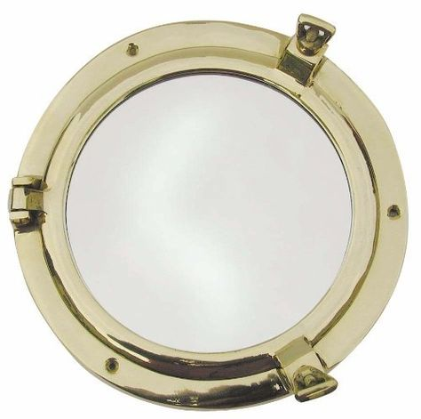 Porthole mirror, round, Nautical Decoration, Gift by Mare2-Classics, http://www.amazon.co.uk/dp/B0052L78PW/ref=cm_sw_r_pi_dp_v667rb0XTP2G5