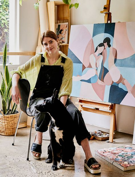 A Studio Visit With Talented Melbourne Painter Emma Currie