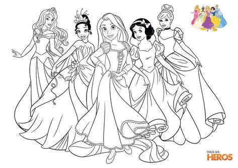 Coloriage Princesse Imprimer Beautiful Coloriages Les Princesses