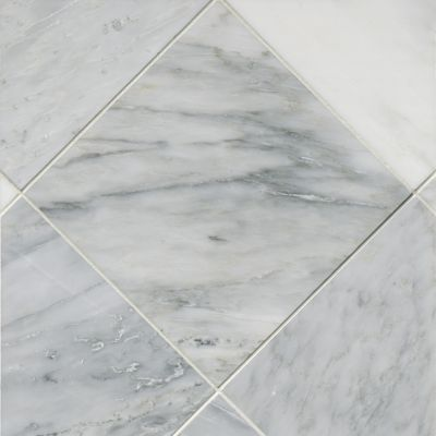 Hampton Carrara Polished Marble Wall And Floor Tile 12 X 12 In In 2020 Tile Floor Marble Wall Wall And Floor Tiles