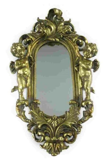 Details Zu Spiegel Wand Deko Antiker Stil Elegante Goldfarben 2