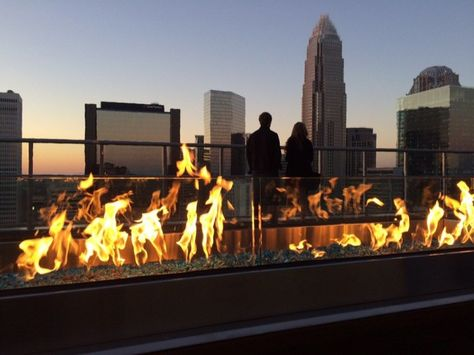 1. Fahrenheit, Charlotte Rooftop Dining in North Carolina