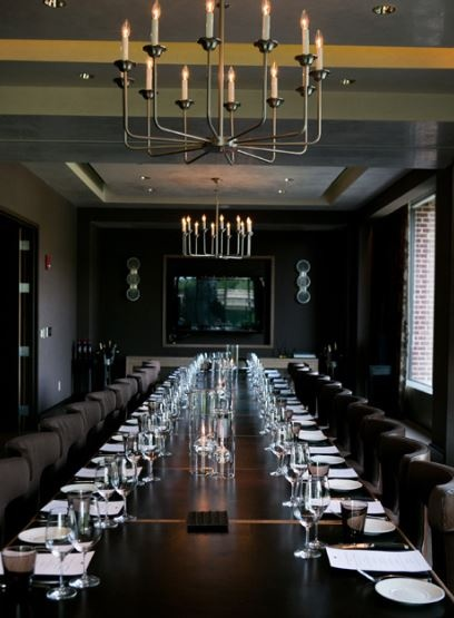 Bourbon Steak's Private Sound Proof Dining Room For 28 Guests Fascinating Stk Private Dining Room Decorating Design