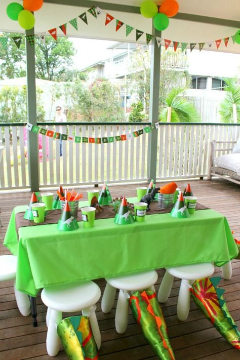 Dinosaur Party Kids Party Printables Printable Invitation Invite Bunting Party Hats DIY