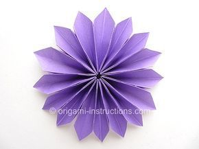 Instructions For Just About Anything Origami Easy Origami Yamaguchi Dahlia Origami Easy Origami Lily Origami Flowers