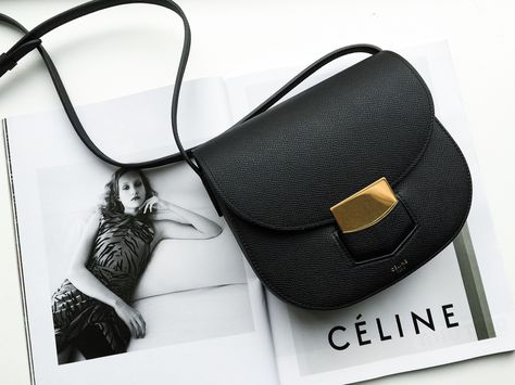 Céline trotteur bag for less | The Gold Lipstick