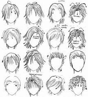 Chibi Hair Base Google Search Manga Hair How To Draw Hair Drawing People
