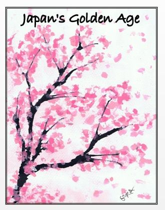 Japan S Golden Age 800s 1300s Assessments Cherry Blossom Drawing Cherry Blossom Painting Cherry Blossom Art