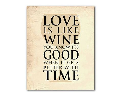 Kitchen Wall Art Love Is Like Wine You By Susannewberrydesigns
