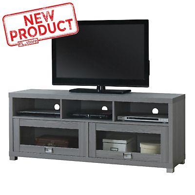 75 Inch Tv Stand Flat Screen Home Media Entertainment Tv Stand Console Furniture Entertainment Console