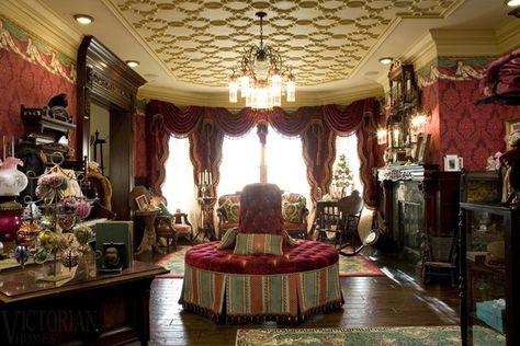 Victorian Decor | Victorian Christmas: Victorian Homes Christmas Decoration  Ideas