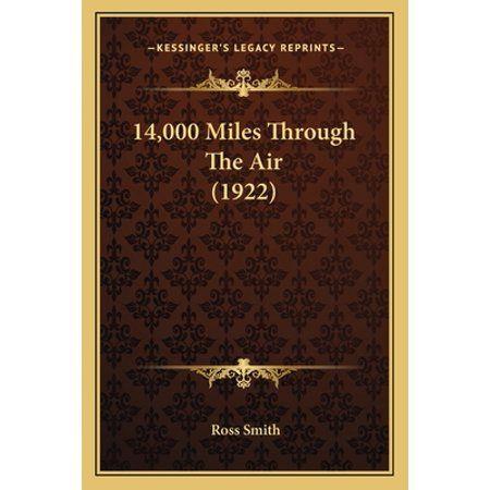 14,000 Miles Through the Air (1922) (Paperback)