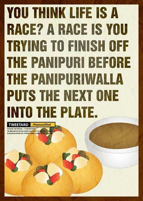 Yess!!  But I love panipuri so im goodd