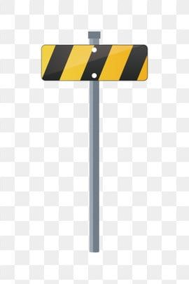 Yellow Roadside Black Lines Eye Catching Road Sign Hand Drawn Traffic Illustration Cartoon Traffic Illustration Yellow Roadside Black Lines Png And Vector Wi How To Draw Hands Road Signs Black Friday