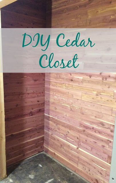 Diy Cedar Closet Not Too Pricey Either Must Protect Wool Bedroom Lined Bat