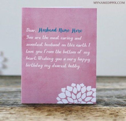 70 Ideas Birthday Card For Husband What To Write In A For 2019 Husband Birthday Card Birthday Wish For Husband Birthday Wishes Cards