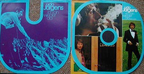 Albumcover Udo Jürgens - Ich bin wieder da - Gimmick-Cover und Plastikhülle