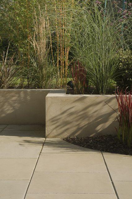 The Modern Family Garden By Earth Designs Www Earthdesigns Co Uk London Garden Design And Landscape Build In 2020 Concrete Retaining Walls Modern Garden Family Garden