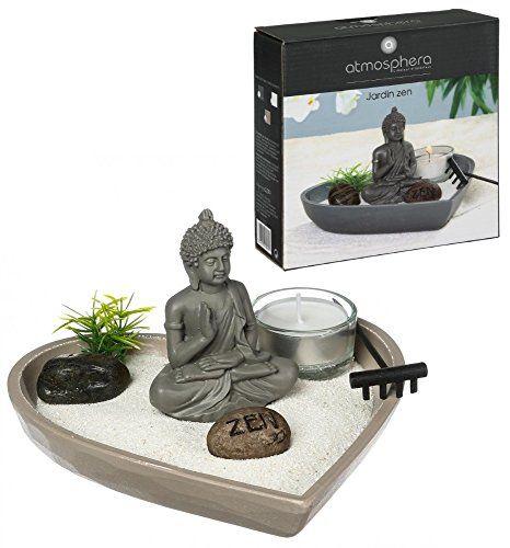 Jardin zen coeur - Objet de décoration avec accessoires ...