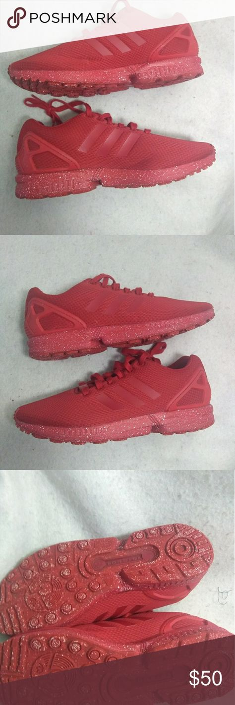 ebcc230648539 Adidas Original ZX Flux triple red torsion sz 8.5 ADIDAS Originals ZX Flux  Yeezy Triple Red