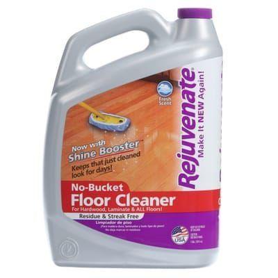 Rejuvenate 128 Oz Floor Cleaner Rj128fc The Home Depot 1000 In 2020 Floor Cleaner Vinyl Floor Cleaners Cleaning Wood Floors