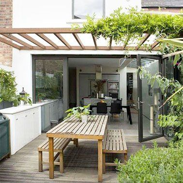 6 Decorations De Terrasse Abritees Par De La Verdure Decoration