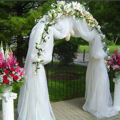 Decorative Metal Wedding Arch 1 Pc 90 X 55 Party Wedding Decorations Sale In 2020 Arch Decoration Wedding Wedding Arch Tulle Metal Wedding Arch