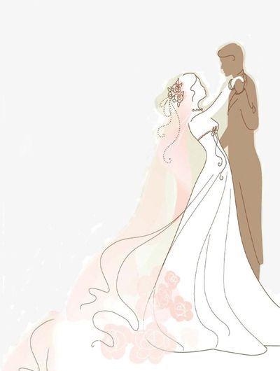 A Noiva E O Noivo Clipart De Noiva Desenho Animado Menina Dancando Imagem Png E Psd Para Download Gratuito Wedding Illustration Custom Wedding Cards Wedding Prints