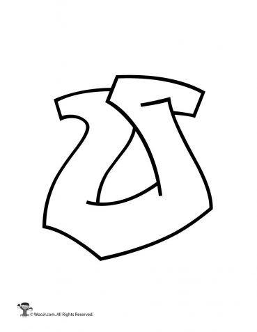Graffiti Capital Letter O Bubble Letters Alphabet Graffiti