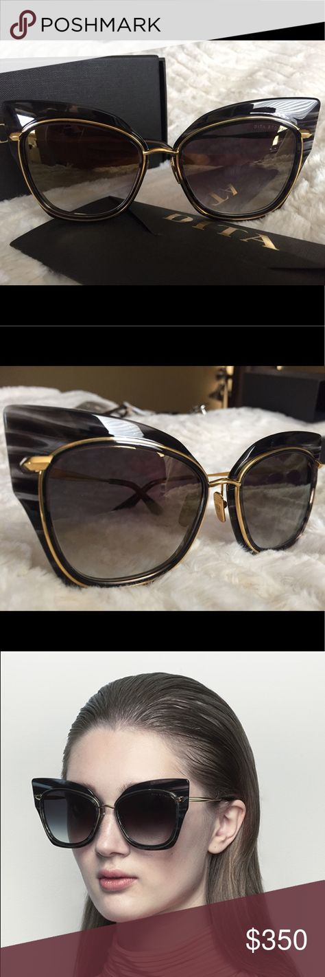 873375dd7128 Dita Stormy sunglasses A22033 18k gold frame Dita Stormy A 22033 A  Excellent Condition ( barely