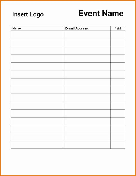 Sign Up Form Template Best Of Doc Word Template Sign Up Sheet